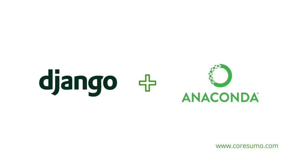 install django in anaconda
