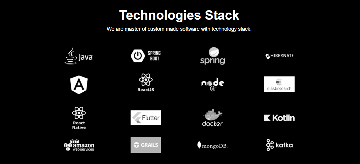 coresumo tech stack