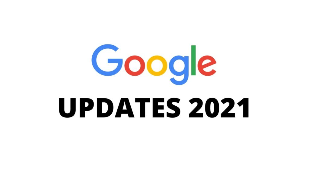 What are the top 5 latest Google update related SEO and ranking?