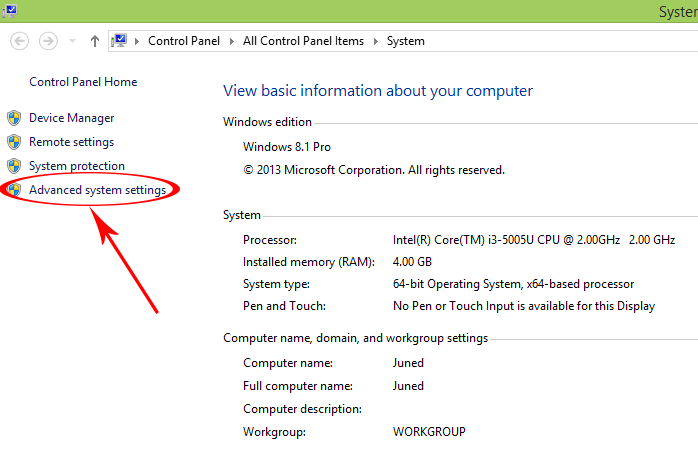 Adding Environment Variable ANDROID_HOME in windows